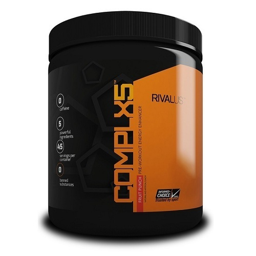 Running Pre-Workout Supplement by Rivalus